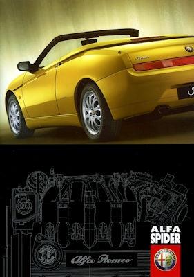 Alfa-Romeo Spider Prospekt 4.1999 0