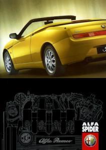 Alfa-Romeo Spider Prospekt 4.1999