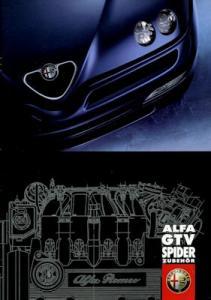 Alfa-Romeo Spider / GTV Zubehör Prospekt 6.1999