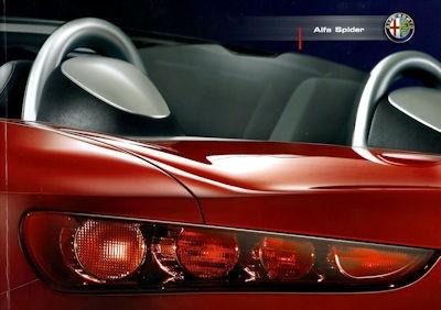 Alfa-Romeo Spider Prospekt 12.2006 0