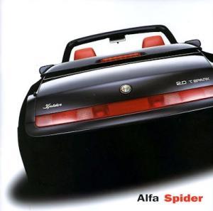 Alfa-Romeo Spider Prospekt 8.2001