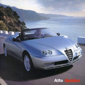 Alfa-Romeo Spider Prospekt 5.2003