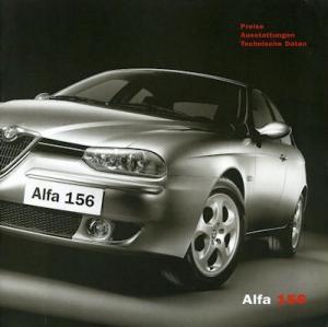 Alfa-Romeo 156 Preisliste 12.2002