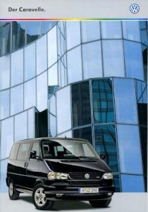 VW T 4 Caravelle Prospekt 8.1998