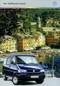 VW T 4 California Coach Prospekt 8.1998