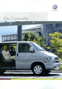 VW T 4 Caravelle Prospekt 5.2001