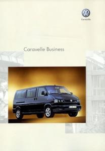 VW T 4 Caravelle Business Prospekt 3.2002
