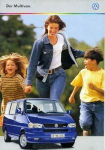 VW T 4 Multivan Prospekt 10.1999