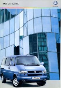 VW T 4 Caravelle Prospekt 9.2000