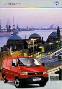 VW T 4 Transporter Prospekt 10.1999