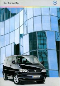 VW T 4 Caravelle Prospekt 10.1999