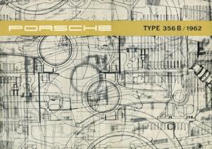 Porsche 356 B Prospekt 10.1961 e
