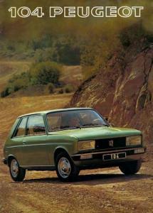 Peugeot 104 Prospekt 1977