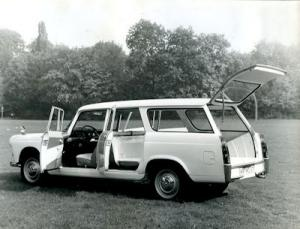 Peugeot 404 Kombi Foto 1960er Jahre
