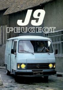 Peugeot J 9 Prospekt 1981