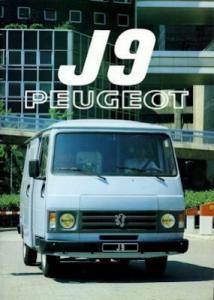 Peugeot J 9 Prospekt 1982