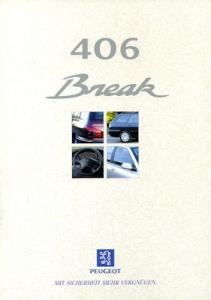 Peugeot 406 Break Prospekt 10.1996