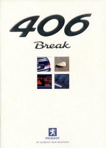 Peugeot 406 Break Prospekt 4.1999