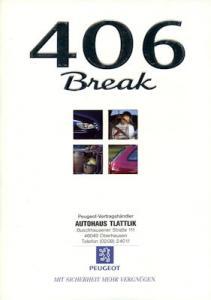 Peugeot 406 Break Prospekt 10.1997