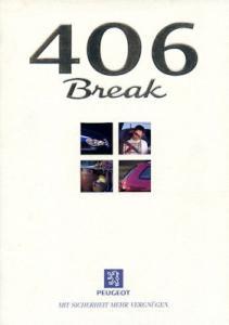 Peugeot 406 Break Prospekt 12.1996