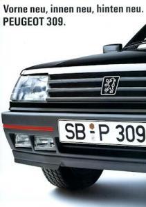 Peugeot 309 Prospekt 7.1989