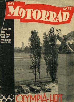 Das Motorrad 1936 Heft 31 0