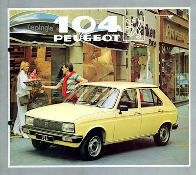 Peugeot 104 Prospekt 1982 0