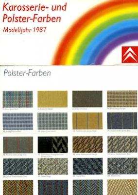 Citroen Farben 1987 0