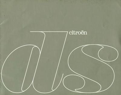 Citroen DS Prospekt 9.1963 it 0