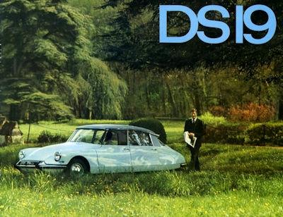 Citroen DS 19 Prospekt 6.1964 0