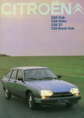 Citroen GSA Prospekt 9.1979 0