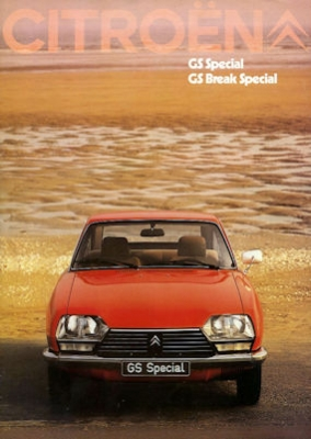 Citroen GS Special / Break Special Prospekt 9.1979 0