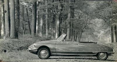 Citroen DS Cabriolet Foto 1960er Jahre 0