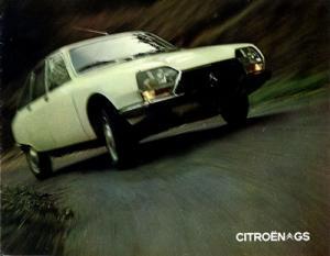 Citroen GS Prospekt 9.1971