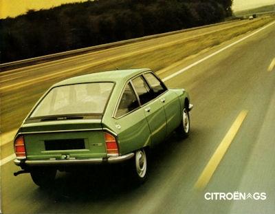 Citroen GS Prospekt 9.1972 0