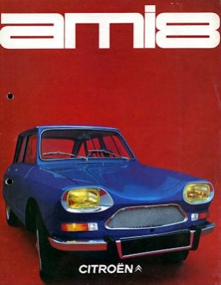 Citroen Ami 8 Prospekt 8.1969 0