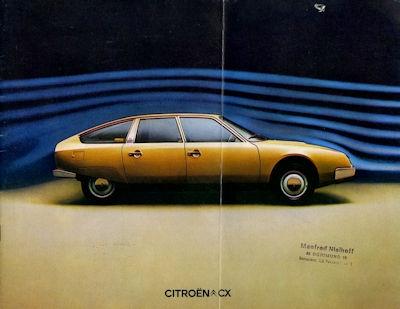 Citroen CX Prospekt 1.1975 0