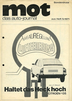 Citroen GS Test 1971 0