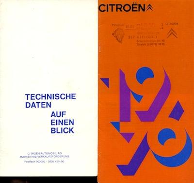 Citroen Programm 1976 0
