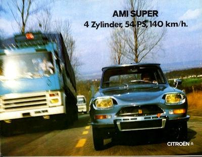 Citroen Ami Super Prospekt 8.1973 0