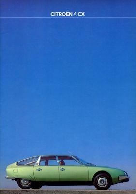 Citroen CX Prospekt 7.1977 0