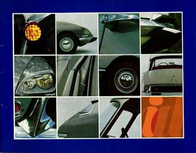 Citroen ID 19 Prospekt 3.1968 0