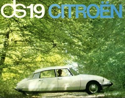 Citroen DS 19 Prospekt 11.1963 0