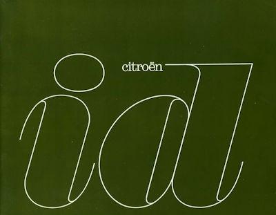 Citroen ID Prospekt 5.1963 f 0
