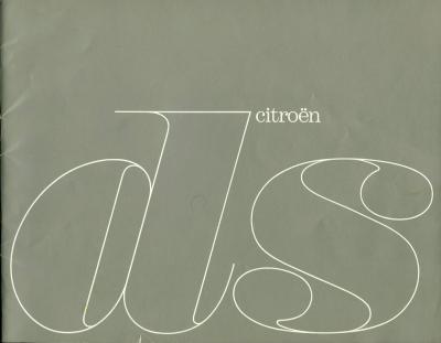Citroen DS Prospekt 3.1963 e 0