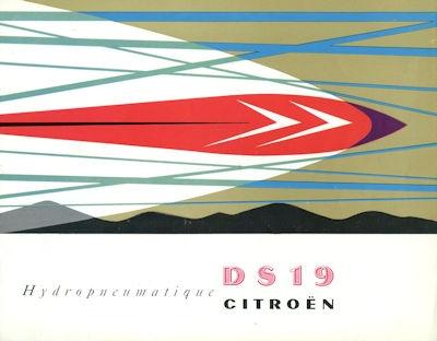 Citroen DS 19 Prospekt 12.1956 0