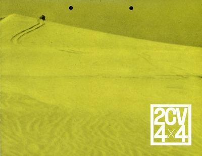 Citroen 2 CV 4x4 Prospekt 12.1962 0