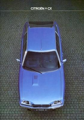 Citroen CX Prospekt 9.1978 0