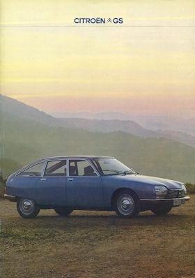 Citroen GS Prospekt 9.1978 0