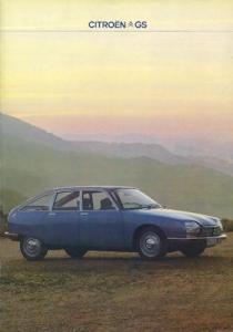 Citroen GS Prospekt 9.1978
